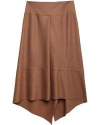 Brian Dales Long Skirt - Brown