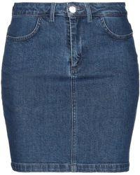Trussardi Jupe en jean - Bleu