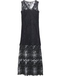Hotel Particulier Long Dress - Black