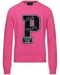 Philipp Plein Jumper - Pink
