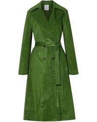 Rosie Assoulin Overcoat - Green