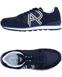 Armani Jeans Low Sneakers & Tennisschuhe - Blau