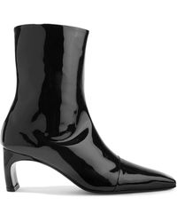 Rosetta Getty Ankle Boots - Black