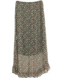 JEFF Long Skirt - Green