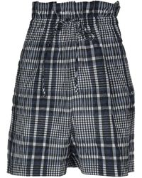 Ganni - Bermuda Shorts - Lyst