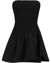 Maje Kurzes Kleid - Schwarz