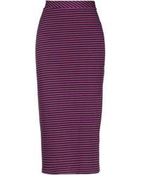 Motel 3/4 Length Skirt - Purple