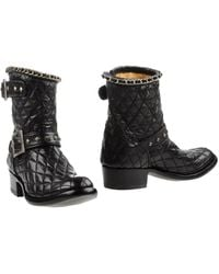 Mexicana Ankle Boots - Black