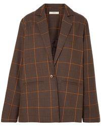 Matin Suit Jacket - Brown