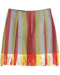 DROMe Midi Skirt - Red