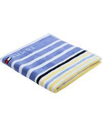Tommy Hilfiger Beach Towel - White