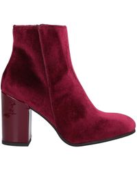 Piampiani Ankle Boots - Red