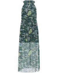 Anna Sui Vestito midi - Verde