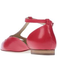 Ottod'Ame Ballerines - Rouge