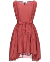 Mauro Grifoni Short Dress - Red