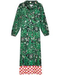 TOPSHOP - 3/4 Length Dress - Lyst