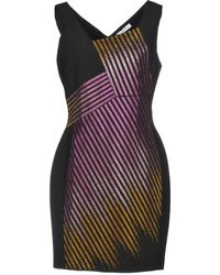 Versace - Vestito corto - Lyst