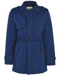 8 Manteau long - Bleu