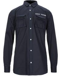 Daily Paper Camicia - Blu