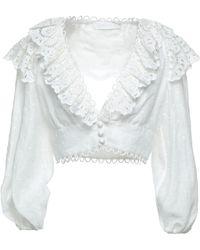 Zimmermann Camisa - Blanco