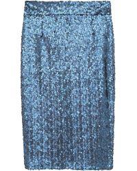 Alessandro Dell'acqua Midi Skirt - Blue