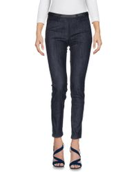 Schumacher - Denim Trousers - Lyst