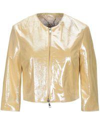 Vintage De Luxe Suit Jacket - Yellow