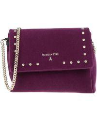 Patrizia Pepe Cross-body Bag - Purple
