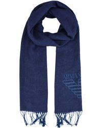 Armani Jeans Oblong Scarf - Blue