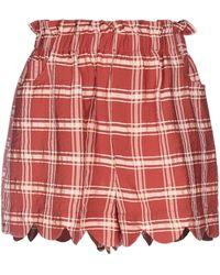 WEILI ZHENG Shorts - Red