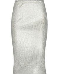 Twenty Easy By Kaos 3/4 Length Skirt - Natural
