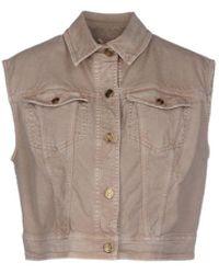 John Galliano Denim Outerwear - Natural