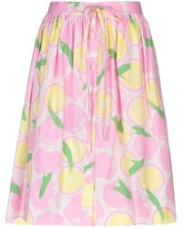 Boutique Moschino Knee Length Skirt - Pink