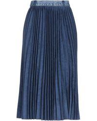 Ksenia Schnaider 3/4 Length Skirt - Blue