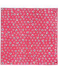 Karl Lagerfeld Square Scarf - Multicolour