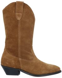 Catarina Martins Ankle Boots - Brown