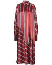 ROKSANDA 3/4 Length Dress - Red