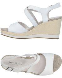 Lumberjack Sandals - White