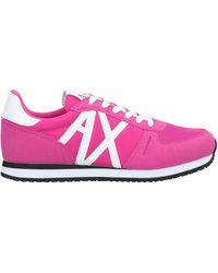 Armani Exchange Sneakers & Tennis basses - Rose