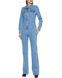 Stella McCartney Langer Overall - Blau