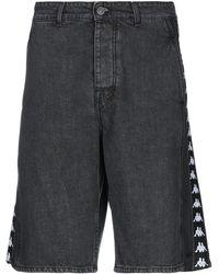Kappa Shorts jeans - Nero