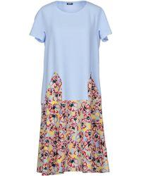 Jil Sander Navy Knee-length Dress - Blue
