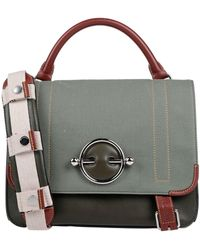 JW Anderson Military Green Large Disc Satchel