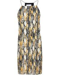 Jolie By Edward Spiers Kurzes Kleid - Mettallic
