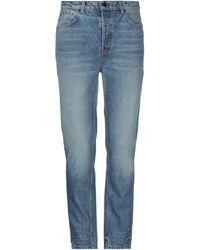 Alexander Wang Denim Trousers - Blue