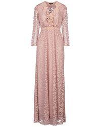 Tara Jarmon Long Dress - Pink