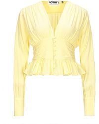 ROTATE BIRGER CHRISTENSEN Shirt - Yellow