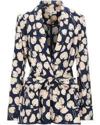 Diane von Furstenberg Suit Jacket - Blue