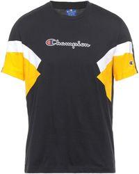Champion T-shirts - Schwarz