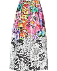 Mary Katrantzou 3/4 Length Skirt - Multicolor